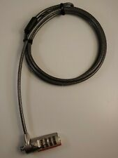 Targus Defcon Serialized Cable Lock (Scl) Pa410S-1 Galvanized Steel - 6.5ft