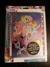 My Little Pony The Movie Scratch & Sticker Journal 4 Holographic Scratch Offs
