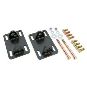 Transdapt 4536 Motor Mount Plates For Chevy LS Or Vortech Into S10/S15 NEW