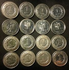 Vintage Poland Coin Lot - ZLOTY - 16 Excellent Coins - FREE SHIPPING
