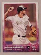 2015 Topps Update Series Baseball #US358 Nolan Arenado Colorado Rockies Mint