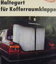 Haltergurt Kofferraumklappe Heckklappe Kofferraumdeckel Klemmschloßgurt