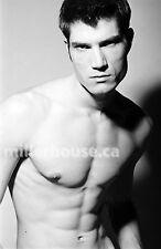 Lenox Fontaine Original B&W 35mm Film Negative Male Model Gay Interest Photo #17