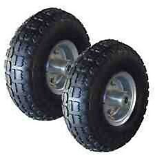"NEW 2X10"" PNEUMATIC SACK TRUCK TROLLEY WHEEL BARROW TYRE TYRES UK SELLER"