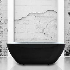 Royce Morgan Maxi Black Onyx Luxury Freestanding Bath 1700mm x 670mm