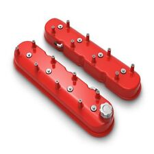 Holley 241-113 Aluminum Tall LS Valve Covers - Gloss Red