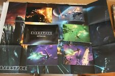 Everspace artbook, poster and 5 postcards - VERY RARE