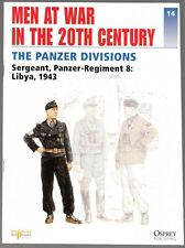 """[59892] """"MEN AT WAR IN THE 20th CENTURY"""" MAGAZINE #14 (1996) PANZER DIVISIONS"""