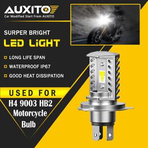 AUXITO H4 9003 HB2 LED Bulb Hi/Lo Beam White Motorcycle Headlight High Power EOA