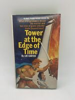 Tower at the Edge of Time Lin Carter 1968 1st Belmont Vintage Sci Fi PB Book VG+
