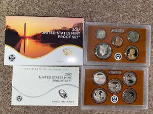 2017 United States Mint Proof Set + COA + Original Set