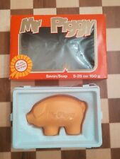 VINTAGE Boxed Mr Piggy Savon Soap Windsor Castle David Rose of London Circa 1979