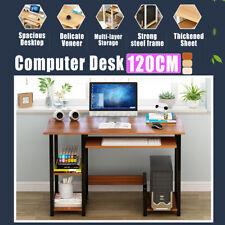 120cm Desk Computer Table Steel Home Office Storage Student Study Workstation