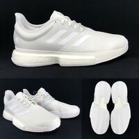 Adidas Mens SoleCourt Boost Parley EF2071 White Hard Court Tennis Shoes Size 8.5