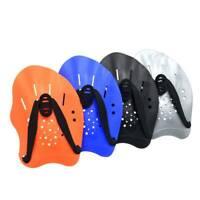 Adjustable Hand Paddles Swim Swimming Fins Gloves Swimming Training Fins Unisex