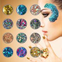 10g Chunky Mixed Glitter Nail Face Eye Body Tattoo Dance Club Cosmetic Makeup YK
