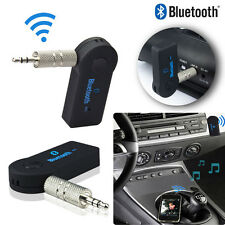 Wireless Bluetooth 3.5mm Aux Audio Stereo Music Adapter Mic Home Car Receiver (Fits: More than one vehicle)