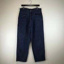 Marithe Girbaud Francois Jeans Baggy Fit Faded Blue Tag Size: 30 (32x31.5) #6404