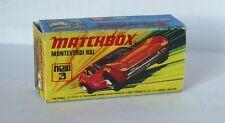 Repro Box Matchbox Superfast Nr. 03 Monteverdi Hai