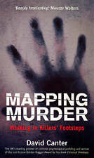 Mapping Murder: Walking in Killers' Footsteps,Canter, David,New Book mon00001005
