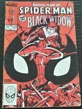 1984 Marvel Team-Up Spider-Man and The Black Widow Hannigan Samson #140 Apr