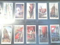 The Queen Mary building Churchman 1936  RARE! card set complete 50 cards