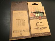 Wonder Candle (6 colored flames) Birthday first chose( pack of 2)