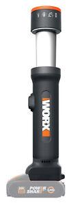 Worx WX027.9 - Linterna LED 4 funciones 20V (no incluye batería)