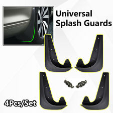 4pcs Front Rear Universal Car Mud Flaps Splash Guards Mudflaps Mudgurads Fender