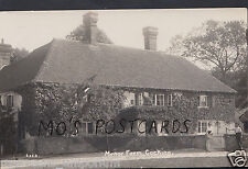 Sussex Postcard - Manor Farm, Cocking    DR814