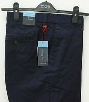 Marks & Spencer Mens Blue Harbour Active Waste Tailored Trousers Size W36 L29