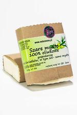 Szare mydło 100% oliwkowe 125g ręcznie wytwarzane