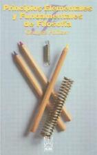 Principios Elementales y Fundamentales de Filosofia (Paperback or Softback)