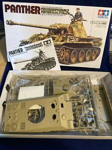 Tamiya 1/35 Panther Tank Plastic Model Kit