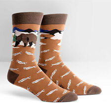 Sock It To Me Men's Crew Socks - Bear Necessities