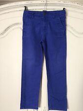 M&s Bright Blue Jeans Age 7-8