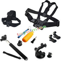Accessories Kit Chesty/Head Strap Floating Handle Mount for Gopro Hero 2 3 3+ 4