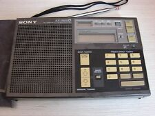 Sony ICF 7600D FM / LW / MW / SW PLL synthesisized short wave radio Receiver