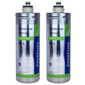 REPLACMENT WATER COOLER 2PK FILTER 2HL-A100 AQUVERSE CLOVER DISPENSERS EVERPURE