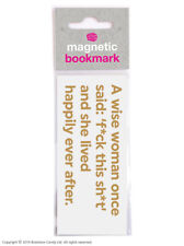 Bookmark Magnetic Funny Humour Novelty Cheap Present Birthday Gift Reading Books