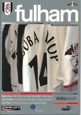 Fulham Championship Home Teams F-K Football Programmes
