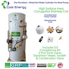 Cool Enegy -  Pre-Plumbed / Pre-Wired Heat Pump Unvented Hot Water Cylinder
