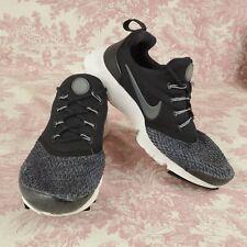 Nike Presto Fly Youth Kids Boys 6 Y Shoes Black Grey AA3060 001