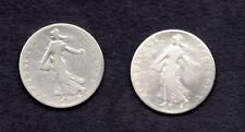 FRANCE 50 CTS  semeuse argent 1898 -1899