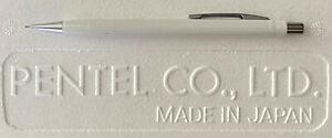 Rare White Pentel P225 (Unmarked) Pro/Am 0.5mm Mechanical Pencil - NOS