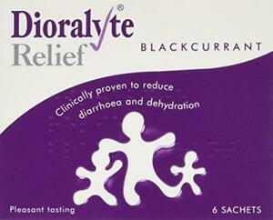 Dioralyte Relief Blackcurrant Medication, 6-Count