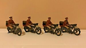britains #200 Motorcycle Dispatch Riders Set