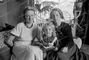 Negativ-Portrait-1930-Cute Mutter-Tochter-Girl-Mädel-mother and daughter-7