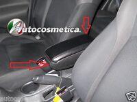 Accoudoir Rangement Spécifique Cuir Artificiel Noir Pour Nissan Juke 10-19° Vis
