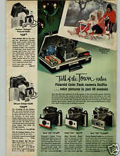 1966 PAPER AD Camera Polaroid Color Pack 103 100 Swinger Bike Hawthorne Mustang